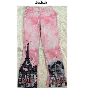 Justice Paris Pants Sz 8